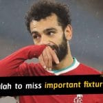 Liverpool and Egypt to miss Mohamed Salah in important fixtures