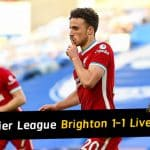 Brighton 1-1 Liverpool: Pascal Gross' penalty denies champions