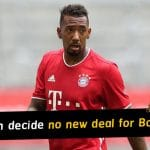 Bayern Munich decide not to offer Jerome Boateng new contract