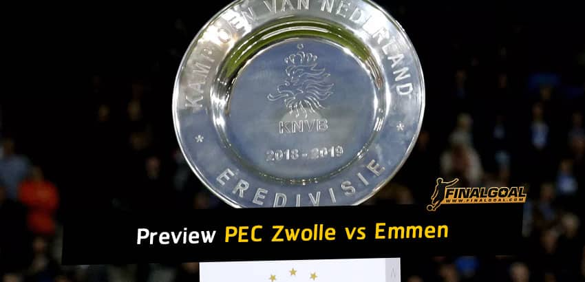 Football match preview and prediction: PEC Zwolle vs Emmen