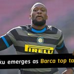Romelu Lukaku emerges as Barcelona top target this summer market
