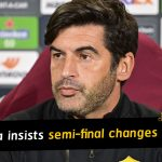 Paulo Fonseca insists Europa League semi-final changes nothing for Roma