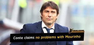 Antonio Conte claims no problems with José Mourinho