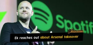 Daniel Ek reaches out to Kroenke family about Arsenal takeover