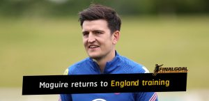 Harry Maguire returns to England training ahead of Euro 2020 opener