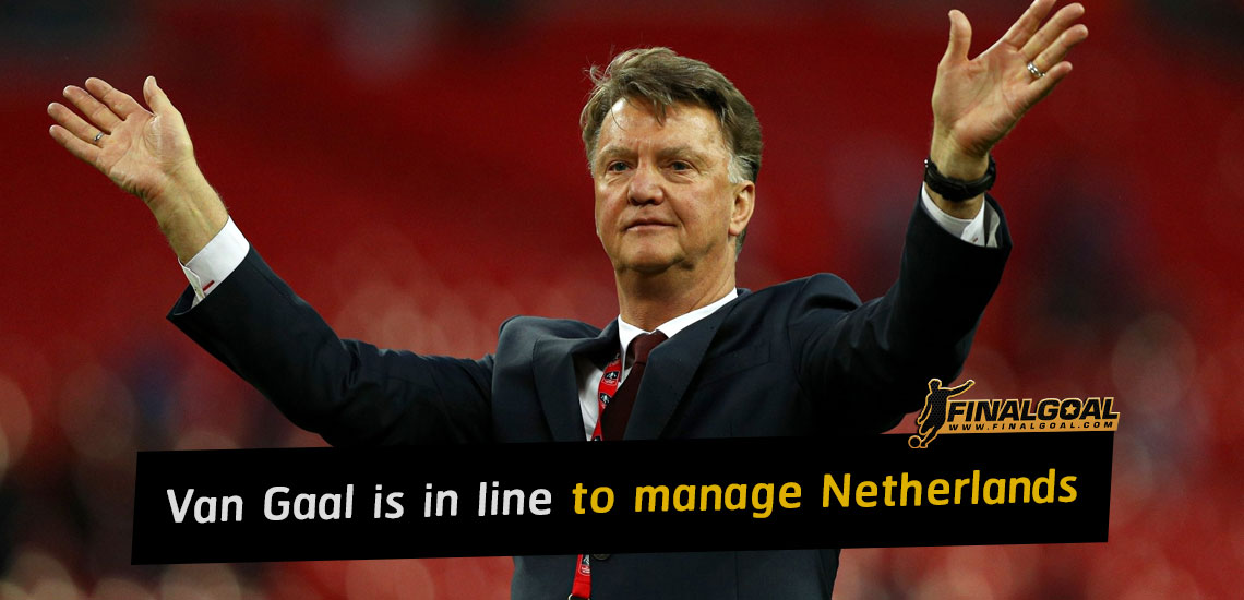 Louis Van Gaal is in line to manage Netherlands for third time