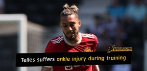 Alex Telles suffers ankle injury during pre-season training camp