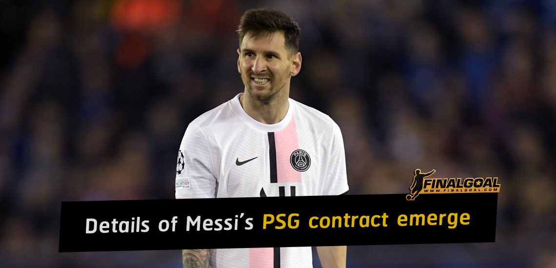Details of Lionel Messi's bumper new PSG contract emerge